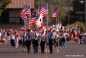 Sonoma's Old Fashioned Fourth of July Parade @ Sonoma Veterans Memorial Building Parking Lot