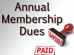 Membership Dues for 2018
